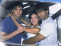 Nick Kiriazis, Priscilla Garita et Hank Cheyne